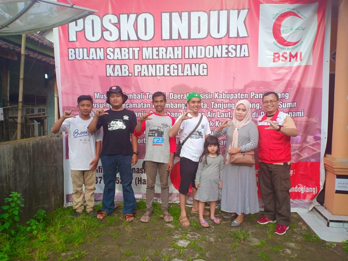 Perwakilan Serena C23 Indonesia untuk Baksos Tsunami Krakatau